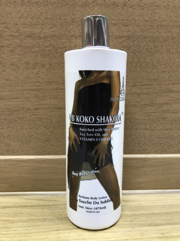 UB KOKO SHAKIRA SEXY BODY LOTION PARIS COLLECTION - 473ml